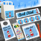 Christmas Elf Boys / Girls Goody Bag With Fillers - Xmas Party - Stocking Filler - Santa Gift - Elf Gift