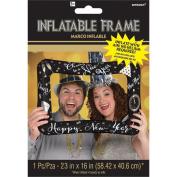 Amscan International 110346-01 New Year's Selfie Frame Foil Balloon