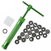 CHIC*MALL DIY Mould Tool Rotary Cake Carving Tool Crowded Mud Machine