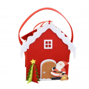 Christmas Gift Bag,Sansee Children Candy Bag Gift Bag Non-Woven Christmas Eve Cute Gift Bag