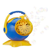 Automatic soap octopus bubble machine, Bubble Maker with USB Charger Cable for Birthday Party, Wedding, Garden and Outdoor Playing Games blue