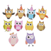 YNuth Cute Cartoon Owl Paper Banner Garland for Party Decoration Hanging Garland for Wedding Birthday Baby Shower