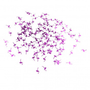 YNuth Flamingo Confetti Parties Supplies for Wedding Party Table Hawaiian Themed Parties Decoration Purple Colour 20 Grammes