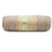 Celine lin One Skein Thick Warm Alpaca Wool Mink Cashmere Yarn For Hand Knitting 100g;Light camel