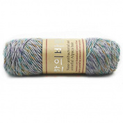 Celine lin One Skein Thick Warm Alpaca Wool Mink Cashmere Knitting Yarn 100g,Multi-colored10