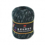 Celine lin One Skein Soft & Warm Angola Rabbit Wool Knitting Yarn 50g,Multi-colored150