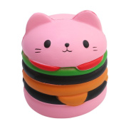 Lalang Cute Cat Squishy Slow Rising Toy Cream Scented Stress Relief Squeeze Toy