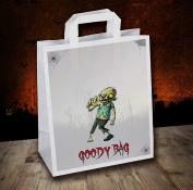 Halloween Party / Goody / Loot Bags (Pack of 6) Zombie Design