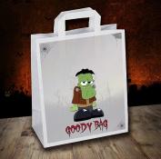 Halloween Party / Goody / Loot Bags (Pack of 6) Frankenstein Design