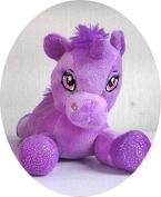 Girls Beautiful Purple Plush Unicorn Teddy for Childrens Sparkly Soft Toy Great Birthday Present & Xmas Stocking Filler