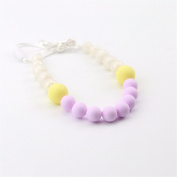 baby tete Nursing Necklace Baby Chewable Silicone Round Beads Teether High Quality Baby Activity Gym Toy Baby Shower Gift