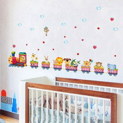 Stickers Train Animals For Children's Bedrooms Babies Rooms Of Open Buy Games