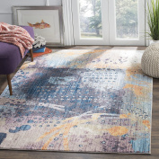 Safavieh BTL355M Jaquelin Woven Area Rug, Polyester, Multi-Colour, 154 x 228 x 0.25 cm