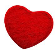 MagiDeal Furry Carpet Floor Blanket Area Rug Play Mat Crawling Cushion Bay Window Carpet - Red, M