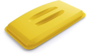 Durable Durabin Rectangular Bin Lid 60 Litre - Yellow