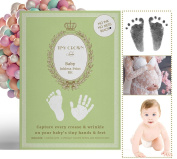Tiny Crown Luxury Inkless Baby Hand and Footprint Complete Kit No Messy Ink G Pack