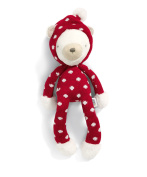 Mamas & Papas 485590924 Soft Toy, My First Christmas Bear Gift, Christmas, Baby's 1st Christmas