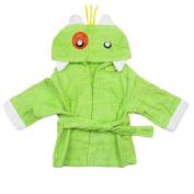 UPXIANG So Cute Cotton Hooded Newborn Baby Bathrobe, Infant Boy Girl Velvet Robe Cartoon Towel Pyjamas Dress Romper Clothes