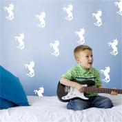Chinget Cute Unicorn Wall Sticker Children Bedroom Wall Decor Wall Art Stickers