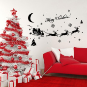 Window Sticker, Xinantime Home Decor Christmas Decoration Decal Wall Stickers