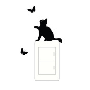 Tonsee® Switch Cat Wall Stickers Light Switch Decor Decals Art Mural Baby Nursery Room
