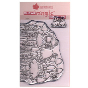 Woodware A6 Clear Cling Stamps - JGS553 Toadstool Clump