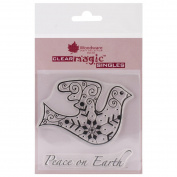 Brand New Woodware Clear Stamps 9.5cm x 10cm Sheet-Nordic Dove