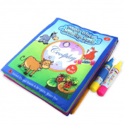 HARRYSTORE Children Water Painting Board Magic Graffiti Education Colour Painting Toys with 2 Pen