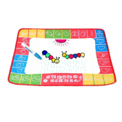 HARRYSTORE Colour Mess Free Water Mat 48*36CM Water Drawing Painting Writing Mat Board Magic Pen Doodle Toy Gift
