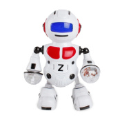 Dancing Robert/Kid Electronic Toys/Smart Robot ,Y56 Intelligent Programmable Electronic Walking Dancing Singing Drumming Smart Bot Robot Astronaut Kids Music Light Toys