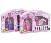 Mini Princess horse doll 14x13x3cm