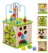 Sun Baby Wooden Activity Play Cube
