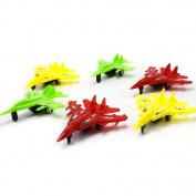 Lavendei 4 Pcs Mini Pull Back Plane Fighter model Toy - Colour Random