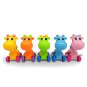 17YEARS Cute Cartoon Animal Giraffe Clockwork Wind-Up Baby Toys Kid Child Birthday Gift