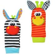 Fostly Baby Socks Fairytale Socks Creatures Donkey Kids Infant Cartoon Animal Socks With Two Donkey Models For Kids