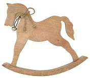 Large Wooden Rocking Horse to stand 28.cm x 5.5.cm x 34.cm