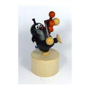 "Detoa 14164 Push puppet ""Der kleine Maulwurf with Violin"" Push toy"