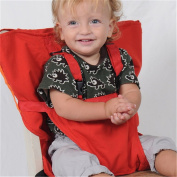 Pueri Baby High Chair Harness Feeding Booster Seat Strap Harness Belt Portable Travel Safety High Chair Seat Cover for Baby Kid Toddler