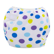 Ouneed Cute Baby Girls Baby Boys Cloth Nappy Cover Adjustable Reusable Washable Nappy