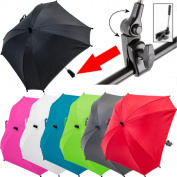 XL Baby Umbrella Sunshade Parasol (UV PROTECTION 50+) for Pram / Pushchair / Buggy