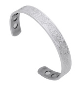 Health Care Magnetic Teen Wolf Symbol Viking Stainless Steel Bracelet for Ladies Fashion Jewellery