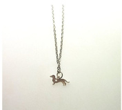 heart Dachshund Necklace Sausage Dog Memorial Gift Dog Pet Necklaces & Pendants Delicate Women