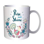 Rise And Shine Rooster 330ml Mug p691