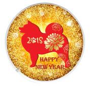 Chinese New Year 2018 Year of the Dog Drinks Mug Coaster Chinese New Year CNY Gift Idea. February 16th 2018.