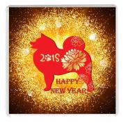 Chinese New Year 2018 Year of the Dog Drinks Mug Coaster Chinese New Year CNY Gift Idea. February 16th.