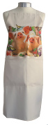Adoreable Pigs Pig Piglets A Natural Cream Cotton Bib Apron - Baker Cook Gift