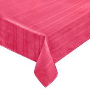 Coin Home 495770 Tablecloth Jacquard Zefiro, 100% Egyptian Cotton, Pink Fuchsia, 140 x 240 x 0.5 cm