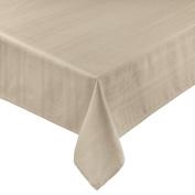 Coin Home 495750 Tablecloth Jacquard Zefiro, 100% Egyptian Cotton, Beige, 140 x 140 x 0.5 cm