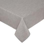 Coin Home 493758 Melange Flame Tablecloth, 100% Cotton, Light Grey Melange, 220 x 220 x 0.5 cm