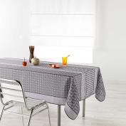 Douceur d 'Intérieur Rectangular Tablecloth, Polyester, natural, 200 x 150 cm